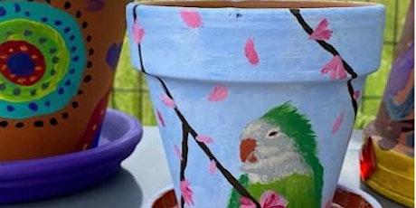 FUN FALL WORKSHOP:  Paint A Plant Pot tickets