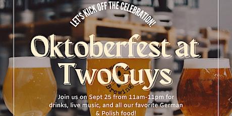 TwoGuys Oktoberfest tickets