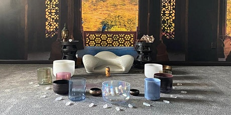 Sound healing and guided meditation tickets