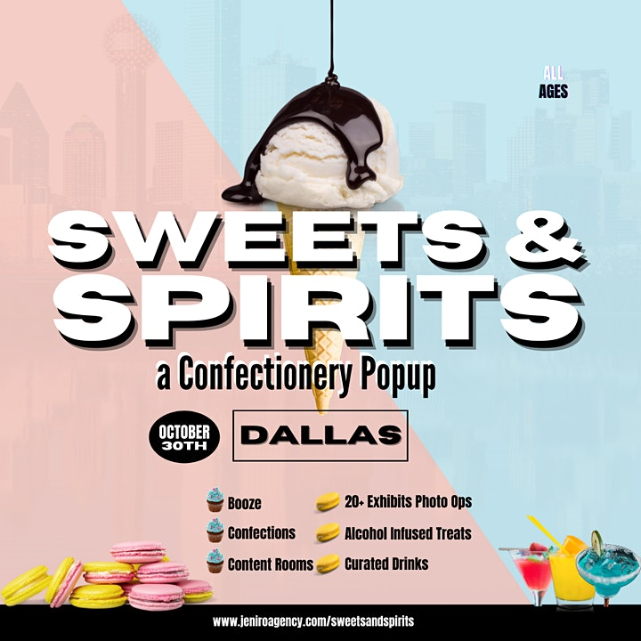 Sweets & Spirits: a Confectionery Popup image