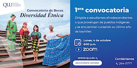 Convocatoria de Becas: Diversidad Étnica boletos