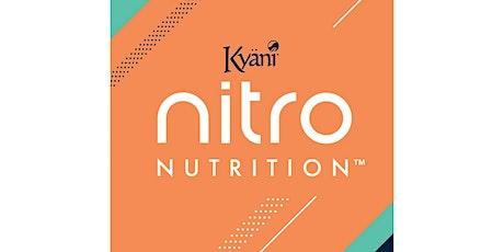 Lancement Nitro Nutrition Canada - Nitro Nutrition Launch tickets
