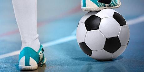 Inscription Soccer intérieur (futsal) 10 à12 ans - Session automne tickets