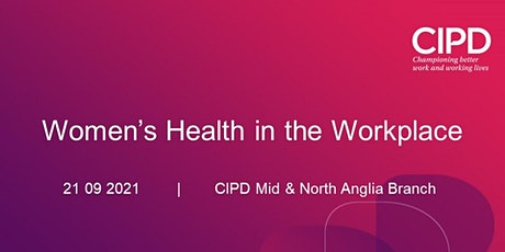 Women's Health in the Workplace tickets