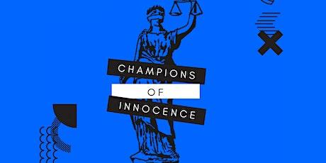 Champions of Innocence 2021 tickets