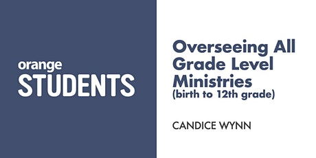 Let's Talk About Overseeing All Grade Level Ministries tickets