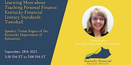 Kentucky Financial Literacy Standards Townhall tickets