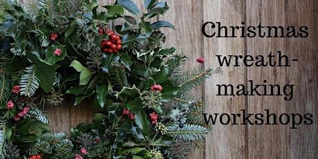 Christmas Wreath Making Workshop, Kent. tickets