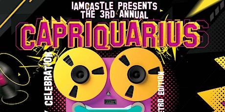 Capriquarius Bash 90's Retro Edition tickets