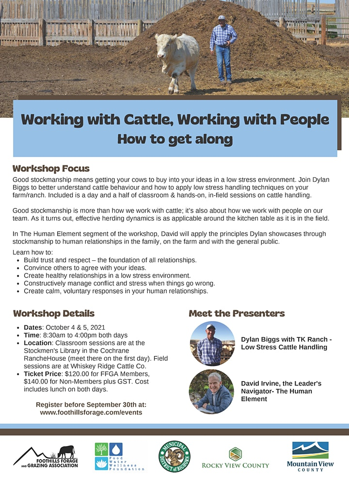 Working with Cattle, Working with People - How to get along image