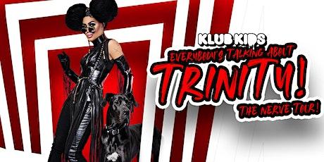 KLUBKIDS GLASGOW PRESENTS - TRINITY K BONET (AGES 18+) tickets