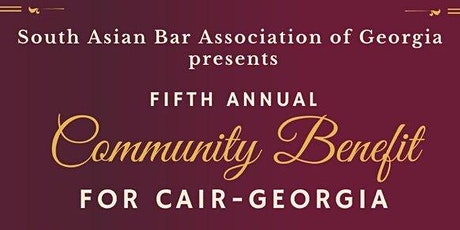 SABA-GA's Fifth Annual Community Benefit for CAIR tickets