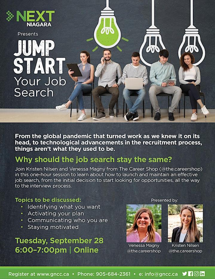 NEXTNiagara Presents: Jump Start your Job Search image