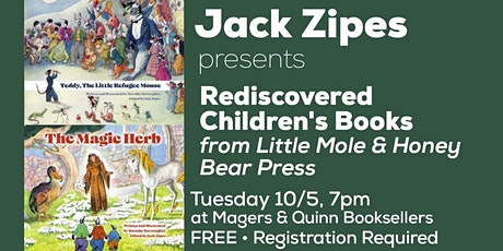 Jack Zipes presents Rediscovered Children's Books tickets