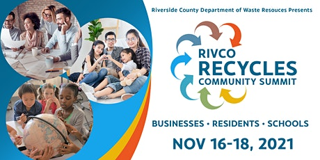 RivCo Recycles Community Summit Day 1: Business Track tickets