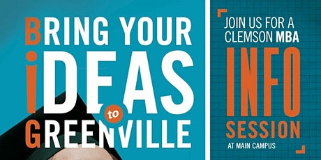MBA Info Session for Clemson  Students tickets