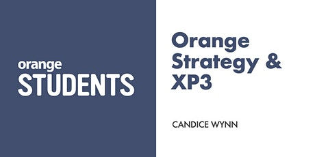Let's Talk About Orange Strategy & XP3 (October) tickets