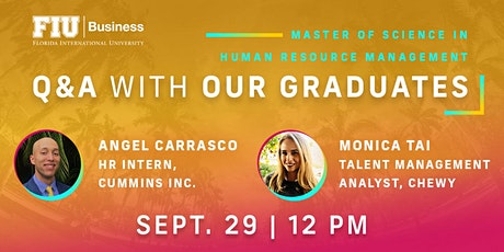 Q&A WITH OUR GRADUATES tickets