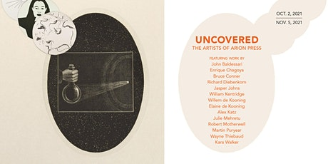 Opening Reception for UNCOVERED: The Artists of Arion Press tickets