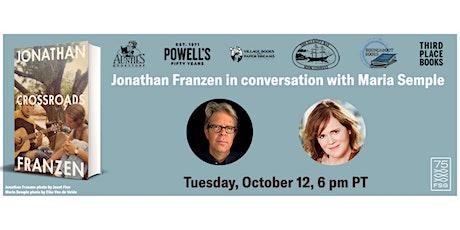 Exclusive PNW Author Event: Jonathan Franzen & Maria Semple tickets