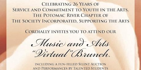 2021 Potomac River Chapter  Music and Arts Virtual Brunch boletos