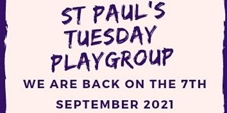 St. Paul's Playgroup tickets