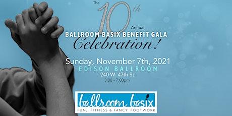 10th Annual BALLROOM BASIX USA, Inc. Gala/Dinner Dance tickets