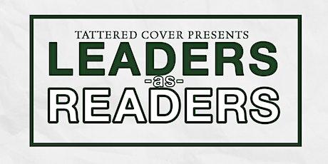 Leaders as Readers: Priya Burkett tickets
