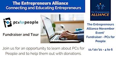 The Entrepreneurs Alliance – November Event Fundraiser: PCs for People