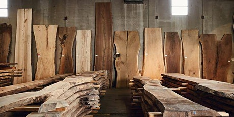 A Walk Through the Woods: Colorado's Largest Live Edge Slab Warehouse tickets