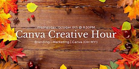 Canva Creative Hour Tickets