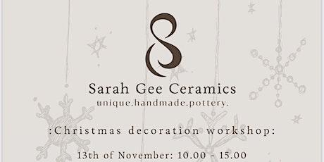 Christmas Decoration Workshop tickets