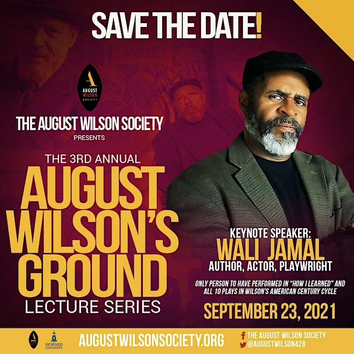 August Wilson Society's 3rd Annual August Wilson's Ground Lecture Series image