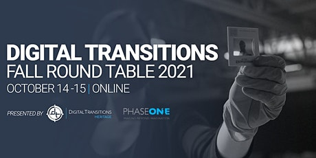 Digital Transitions Fall 2021 Round Table Tickets
