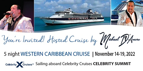 Cruise with Michael D'Amore tickets