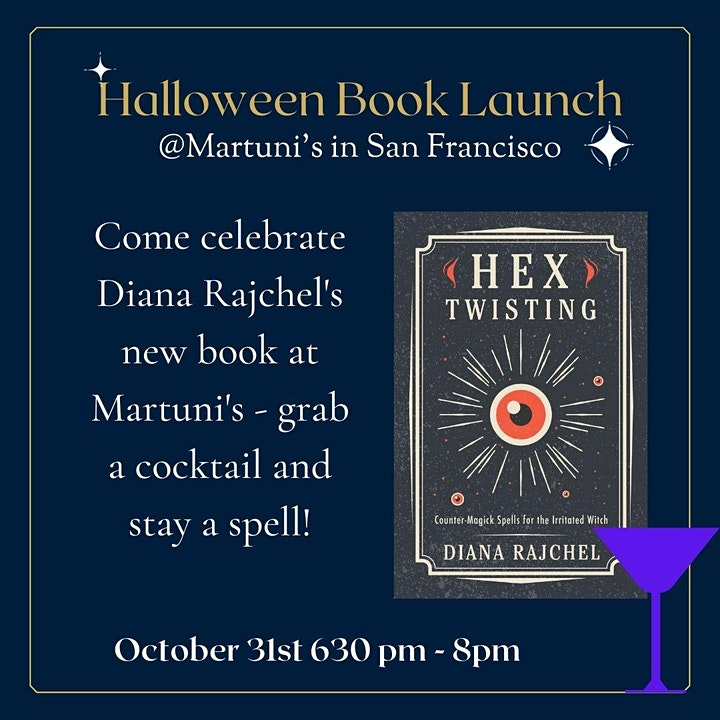 Hex Twisting Halloween Book Launch Party image