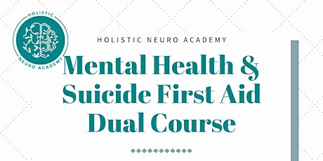 Mental Health & Suicide First Aid Course [3-days] tickets