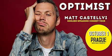 Optimist Comedy Tour: English Comedy Night at Brix Bar and Hostel tickets