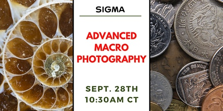 Advanced Macro Photography with Bedford Camera & Video tickets