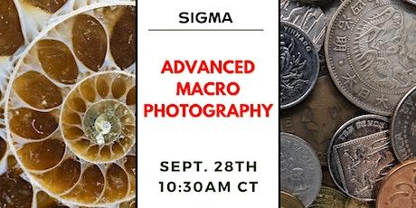 Advanced Macro Photography with Bedford Camera & Video biglietti