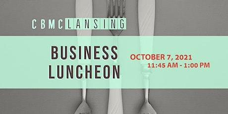 CBMC Business Luncheon tickets