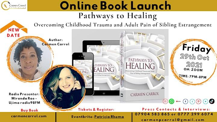 Online Launch - Pathways to Healing  - Overcoming image