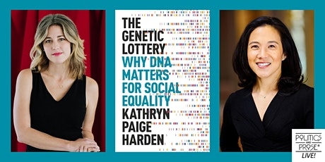 P&P Live! Kathryn Paige Harden   THE GENETIC LOTTERY with Angela Duckworth tickets