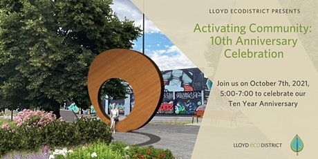 Activating Community: 10th Anniversary Celebration tickets