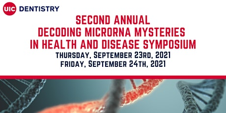 Decoding MicroRNA Mysteries in  Health and Disease tickets