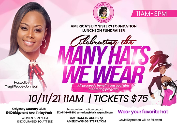ABSF Celebrating the Many Hats We Wear Fundraising Luncheon image