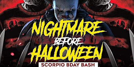 Nightmare In The DMV Costume & Masquerade Scorpio Bash 10/30/21 tickets