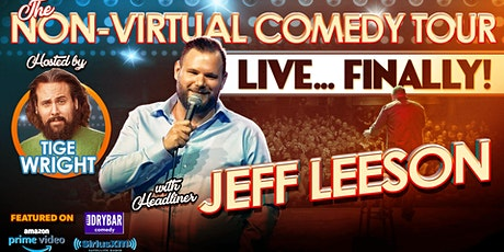 Jeff Leeson Comedy Act at Waters Edge Winery and Bistro Kalispell tickets