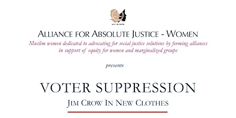 Voter Suppression: Jim Crow in New Clothes tickets
