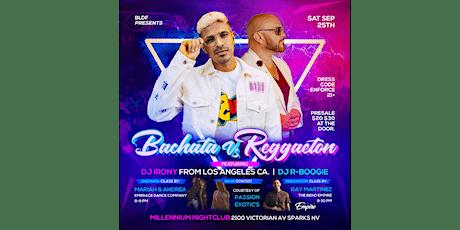 BLDF Presents Bachata VS Reggaeton tickets